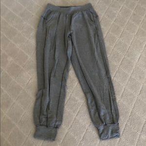 Lululemon joggers grey size 4